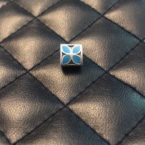 Pandora RETIRED Blue Enamel Charm